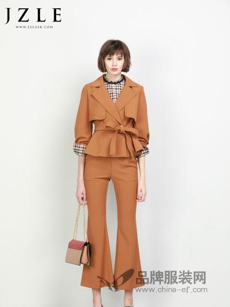 珈姿・莱尔女装2018秋冬新款小个子毛呢两件套短裙套装韩版显瘦潮