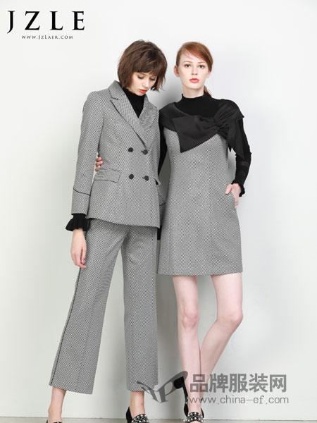 珈姿・莱尔女装2018秋冬无袖通勤气质夏装新品小衫+阔腿裤两件套