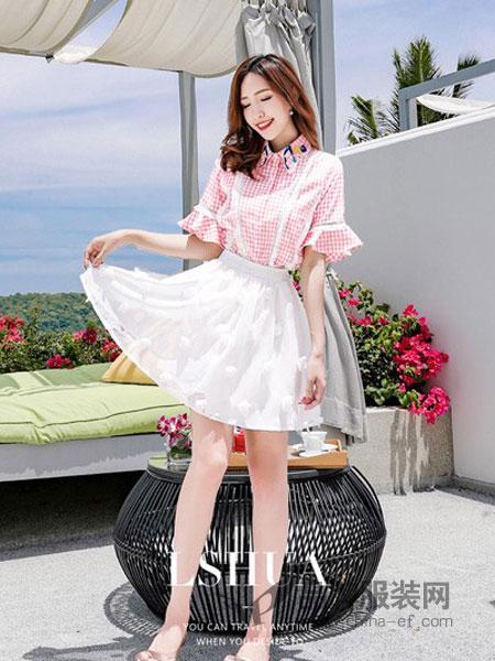 恋上花女装2018春夏新款韩版高腰蕾丝吊带裙气质