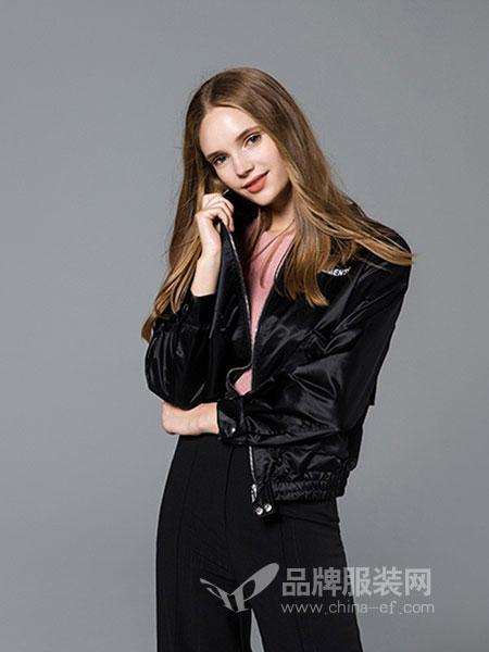 歌宝琪女装2018秋冬新款韩版宽松长袖外套长裤时尚网红两件套