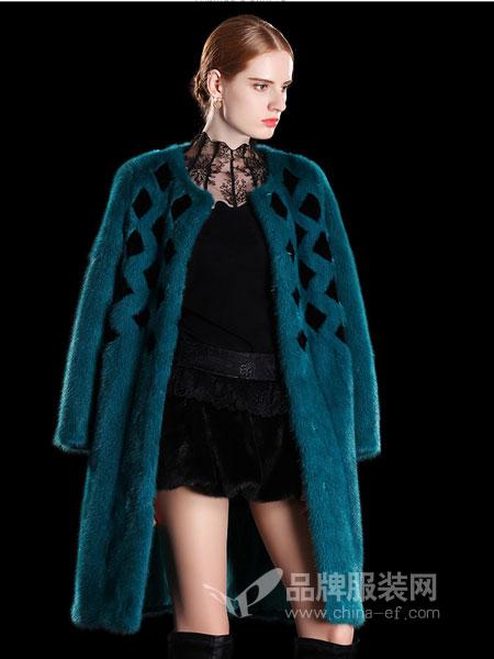 玛娃女装2018秋冬中长款外套韩版潮流字母印花上衣