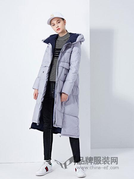 太和女装2018秋冬简约气质中长款毛呢大衣外套