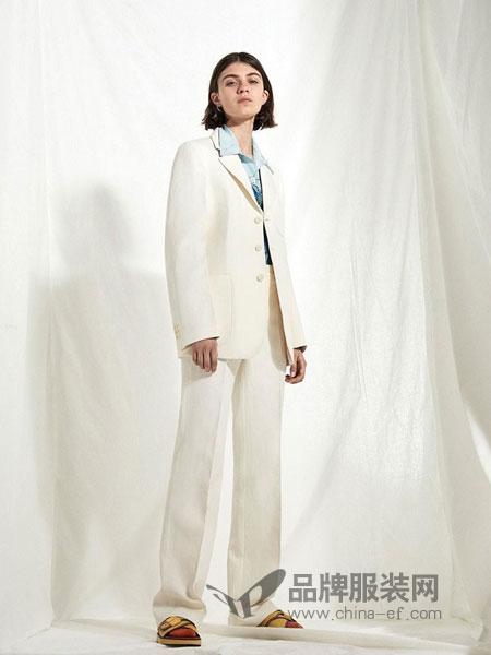 摩登瑞尔女装2018秋冬名媛气质收腰显瘦女神范两件套