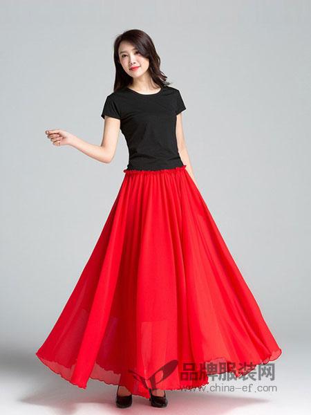 蕗依女装2018春夏新款高腰半截裙白色半裙短裙纱裙中裙