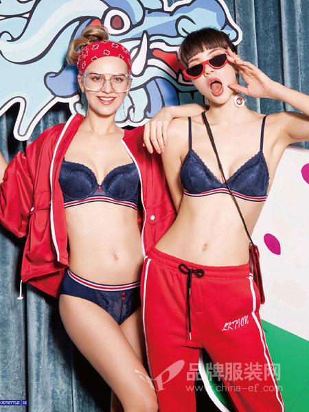 布迪·设计yabosport2018秋冬调整型聚拢yabosport性感蕾丝文胸套装