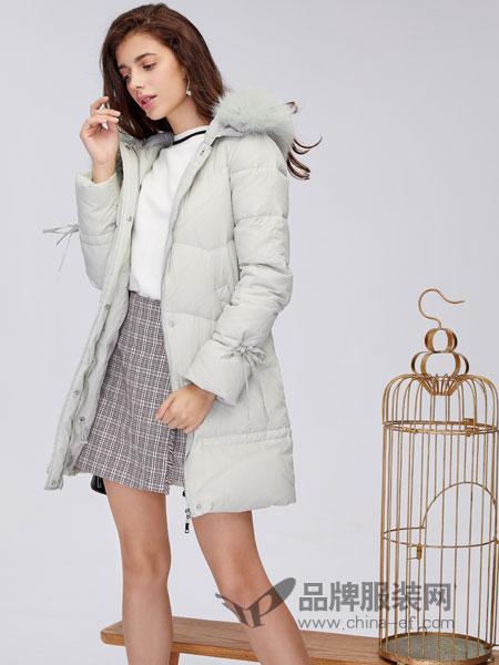 城市衣柜女装2018秋冬新款韩版甜美修身宽松显瘦羽绒服