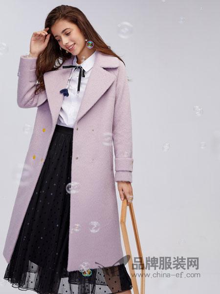 城市衣柜女装2018秋冬新款韩版修身显瘦风衣大码中长款大衣外套