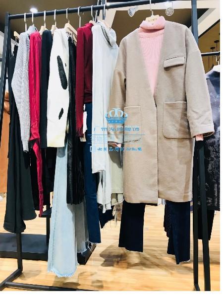 2018艾米秋冬品牌女装折扣店批发货源