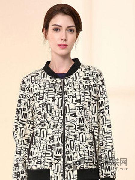 Milan Don女装2018秋冬短款宽松大码外套长袖