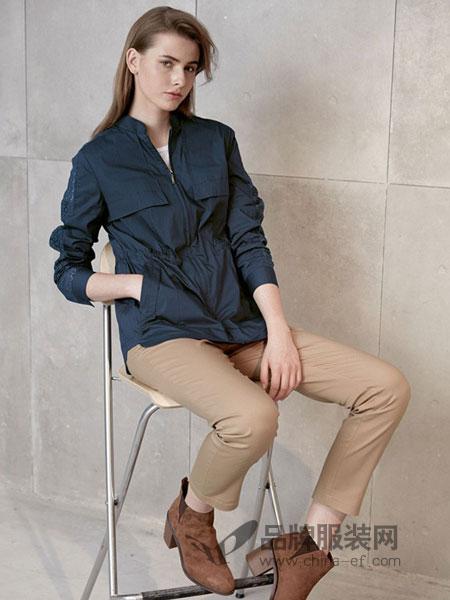 艾罗利女装2018春夏宽松夹克上衣百搭小个子外套潮