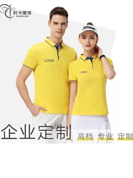 广州定制天河区商务翻领Polo衫,翻领广告衫T恤定制厂家