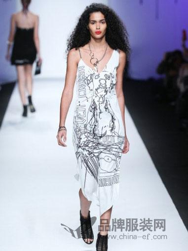 7CRASH女装吊带连衣裙快时尚