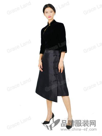 Grace Land女装舜英如妍半裙