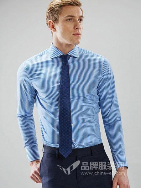 SS Revel男装2018秋冬商务衬衣修身纯棉男衬衣