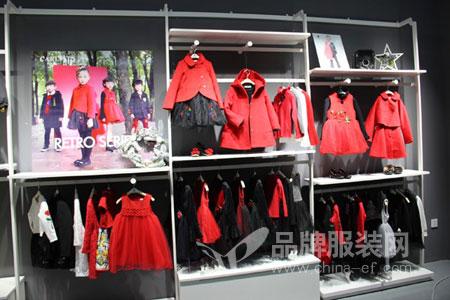 卡儿菲特品牌童装店铺展示