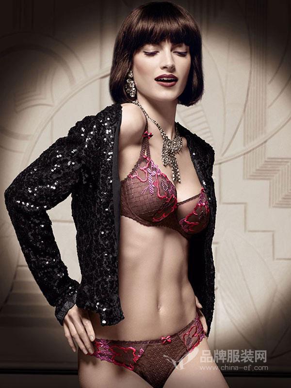 Aubade内衣性感舒适不空杯时尚新款文胸