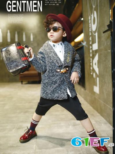 Lily-BaLou莉莉日记童装毛线中大童韩版针织衫