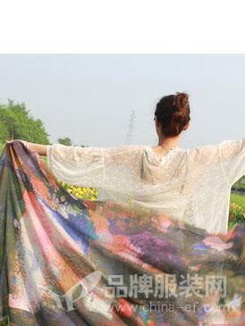 汝拉丝巾2018秋冬韩版日系小清新