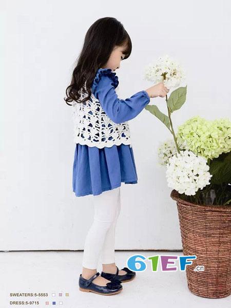 Romocie植木西童装2018春夏洋气时髦休闲韩版时尚女童套装