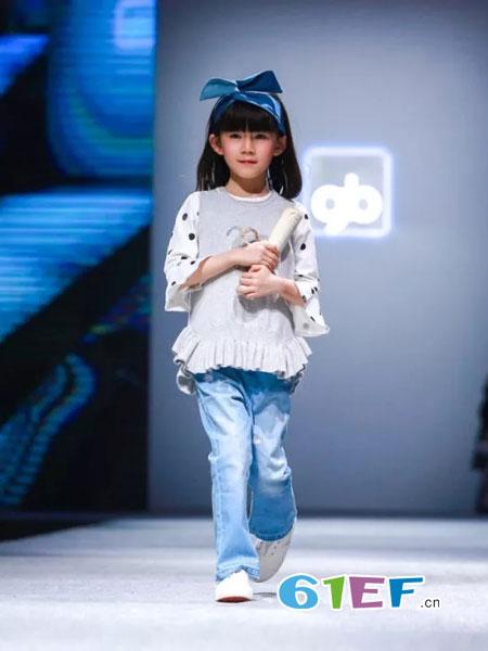 GB KIDS童装2018秋冬童针织背心马夹