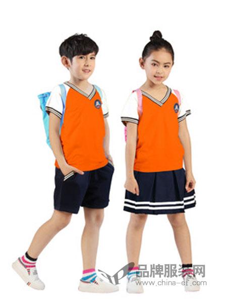 时流童装校服套装