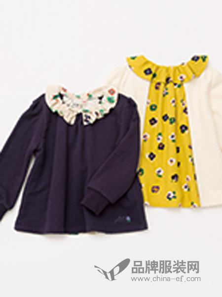 Knitplanne童装碎花连衣裙