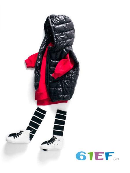 mayas童装2018秋冬中小童可爱外套萌羽绒棉