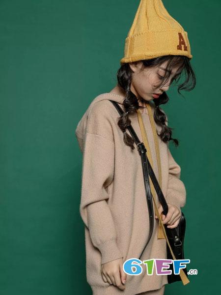 韩米娜风尚童装2018秋冬新款韩版儿童宝宝线衣中大童毛衣外套