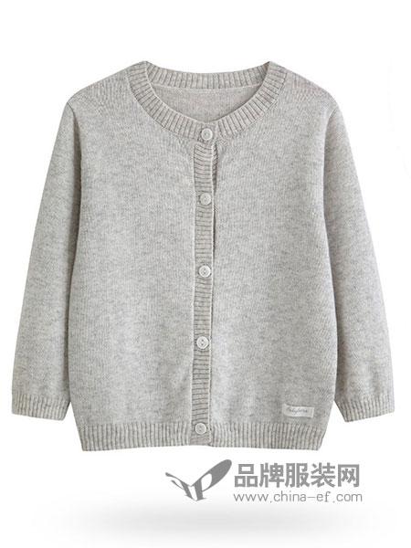 親豆童装2018秋冬外套儿童男女秋冬婴儿保暖0-3岁加厚毛衣标