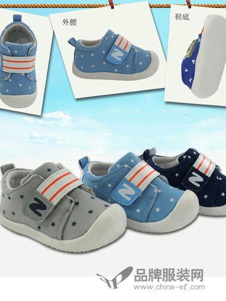 逸硕童装2018秋冬魔术贴帆布鞋