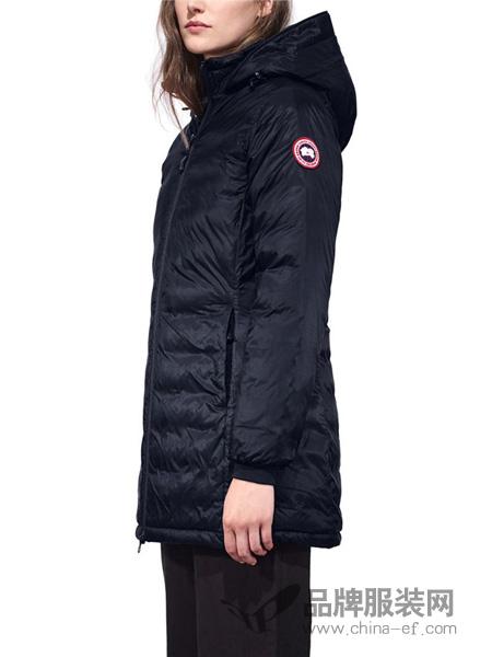 Canada Goose女装2018冬季黑色羽绒服