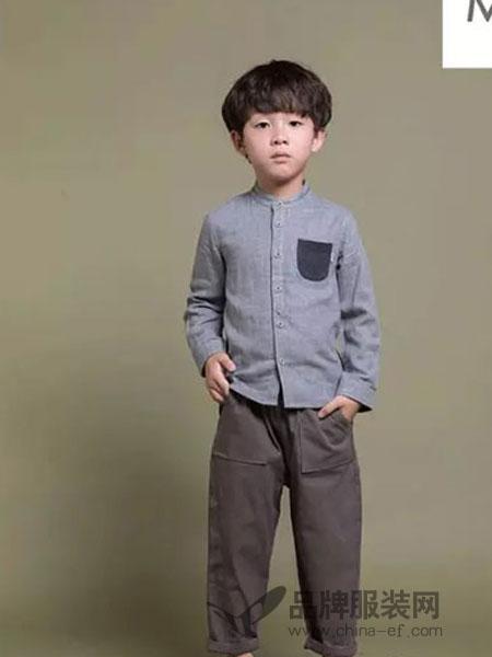 Mayotale童装2018秋冬时尚气质翻领衬衫