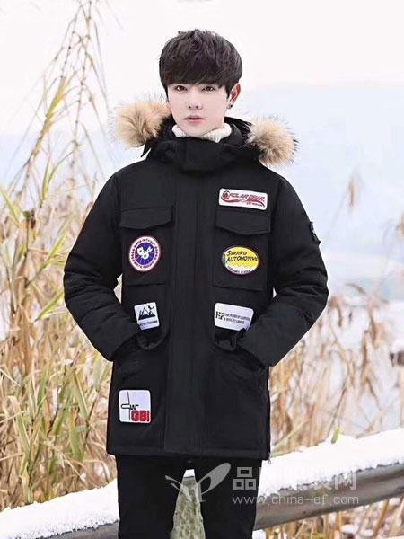 玛帕萨休闲2018秋冬中国风长袖中长款外套