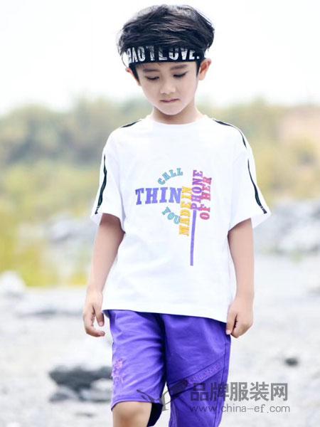帝柒班DIQIBAN童装图案短袖