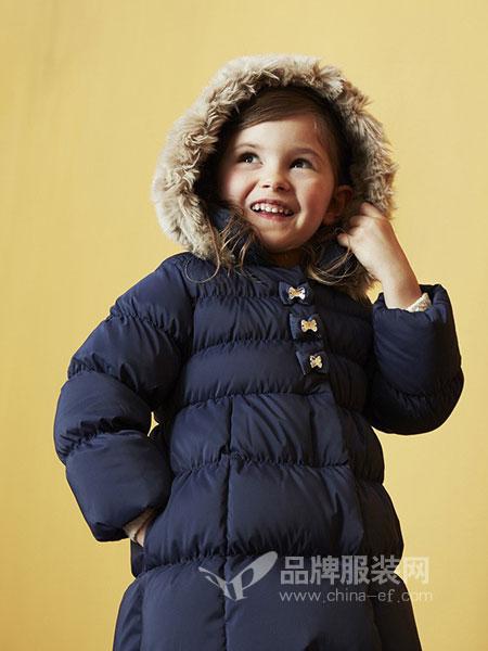 MIKI HOUSE童装2018秋冬新款韩版加厚保暖休闲棉服女宝宝棉袄外套潮