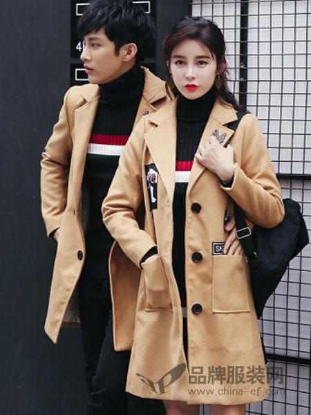 恩尚女装2018秋冬时尚韩版外套