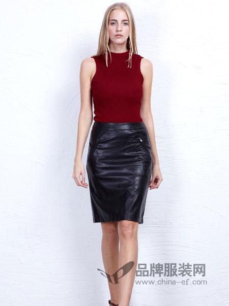 丹尼布鲁女装新品百搭职业半身裙短裙