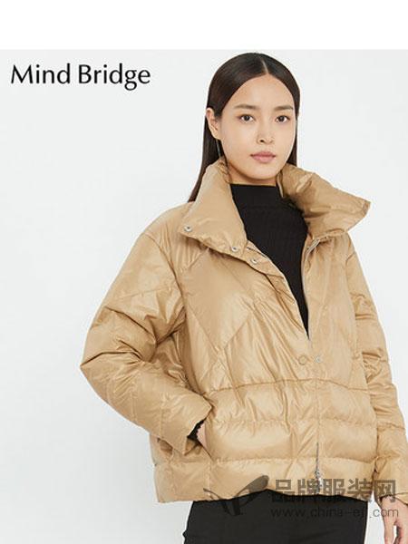 Mind Bridge女装2018秋冬加厚羽绒服