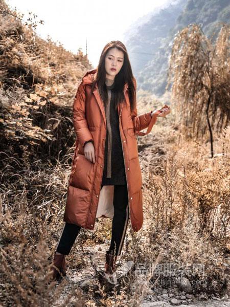 梦栖女装2018冬季新款宽松加厚羽绒棉服外套