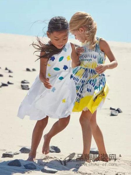 ILGufo童装沙滩连衣裙