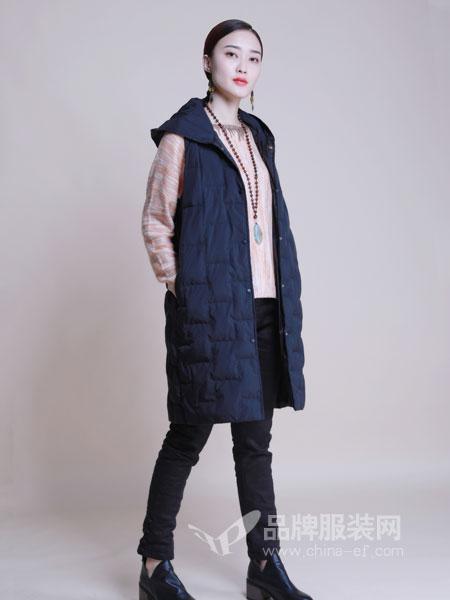 曼茜纱女装2018冬季马夹坎肩背心棉衣冬天外套