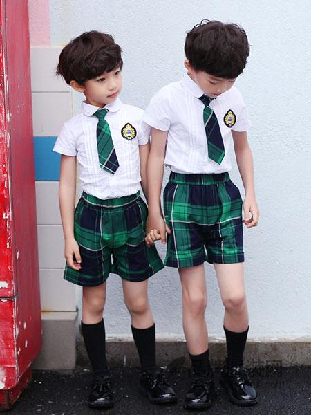 西北元素童装学院风校服