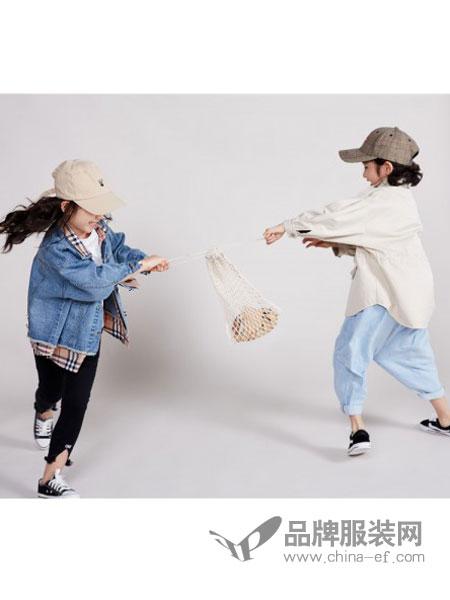 宝贝传奇童装品牌2019新款拼接牛仔外套/风衣外套