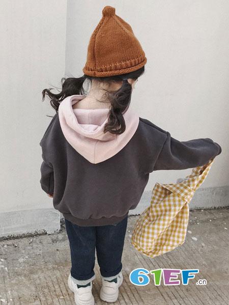 多啦啦童装2018秋冬短款夹克外套