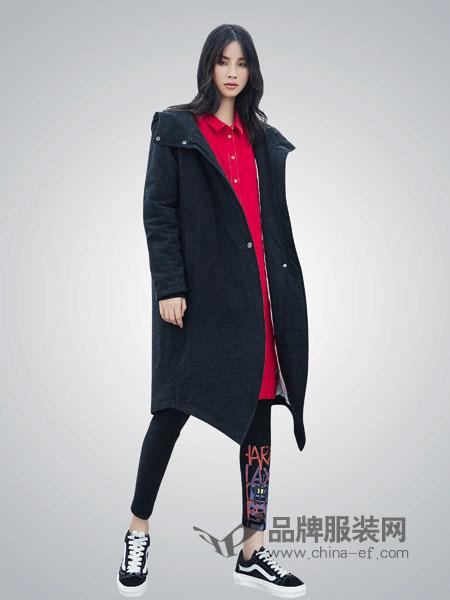 BUKHARA布卡拉女装2018秋冬中长款宽松外套