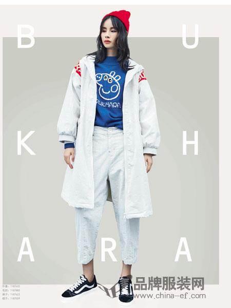 BUKHARA布卡拉女装2018秋冬中长款百搭风衣
