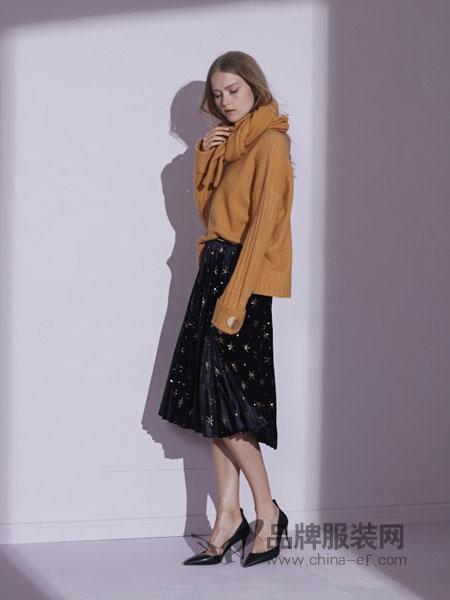 美言-Maia Yan女装2018秋冬针织长袖