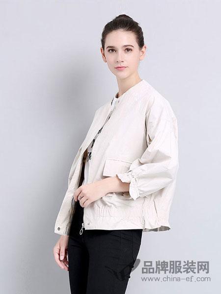 法妮女装2018秋冬韩版港风显瘦秋装长袖夹克