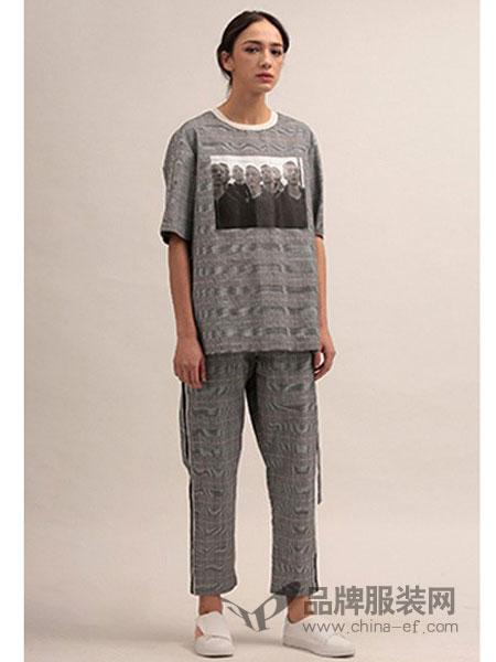 825ING休闲2018新款图案短袖T恤百搭