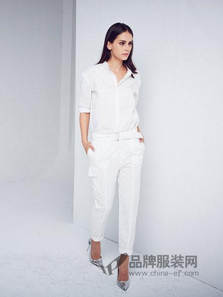 D+女装纯色衬衫百搭